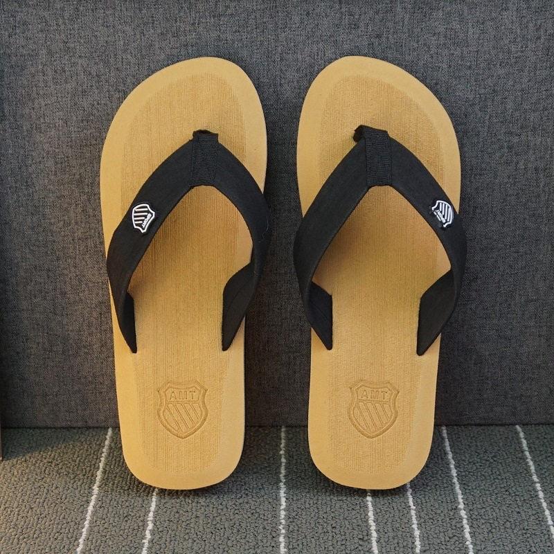 ; летние пляжные шлепанцы; мужские вьетнамки высокого качества; пляжные сандалии; zapatos hombre; Повседневная обувь; ; WS321 - Цвет: Coffee