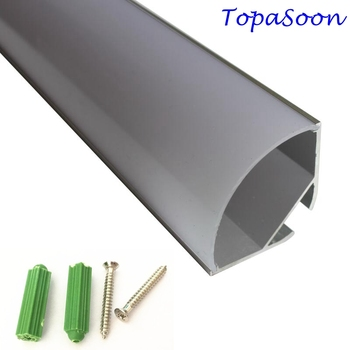 10PCS-1m length  led light aluminum-Item No.LA-LP35A led Angle profile corner led light aluminum for 20mm width led strip or PCB