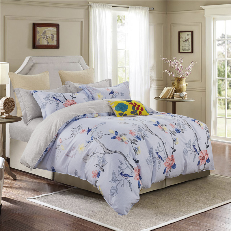 100%Cotton Soft fabric Twin Queen King size Bedding set for kids children adults Bed set Duvet cover Bed sheet set pillowcases
