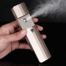 Портативный нано спрей туман удобный Пароварка для лица Mister Usb Перезаряжаемый для лица увлажняющий Распылитель устройство красота инструмент