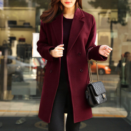 New Autumn And Winter font b Women s b font Woolen font b Coat b font