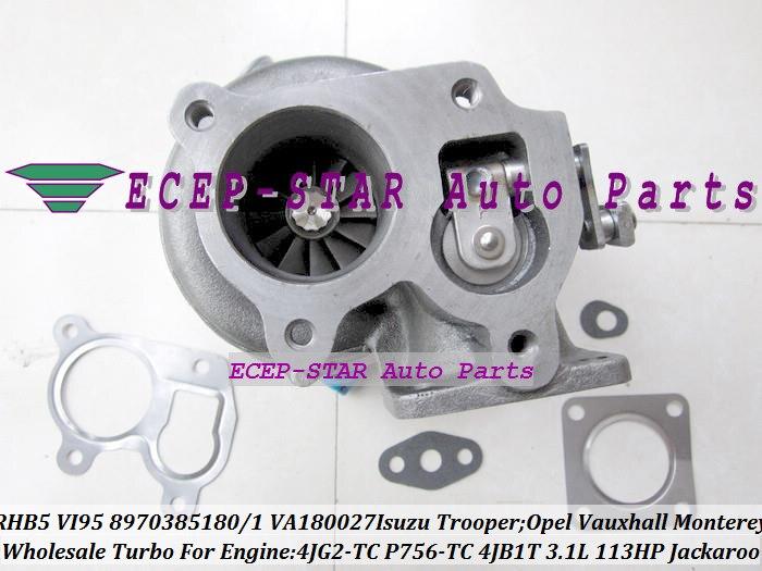Turbocharger Mounting Gasket Kit Opel Vauxhall Fiat Alfa Romeo Saab Holden