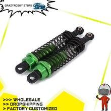 2PCS Oil Adjustable 70mm Alloy Aluminum Rear Shock Absorber Damper For RC Car 1 16 Buggy