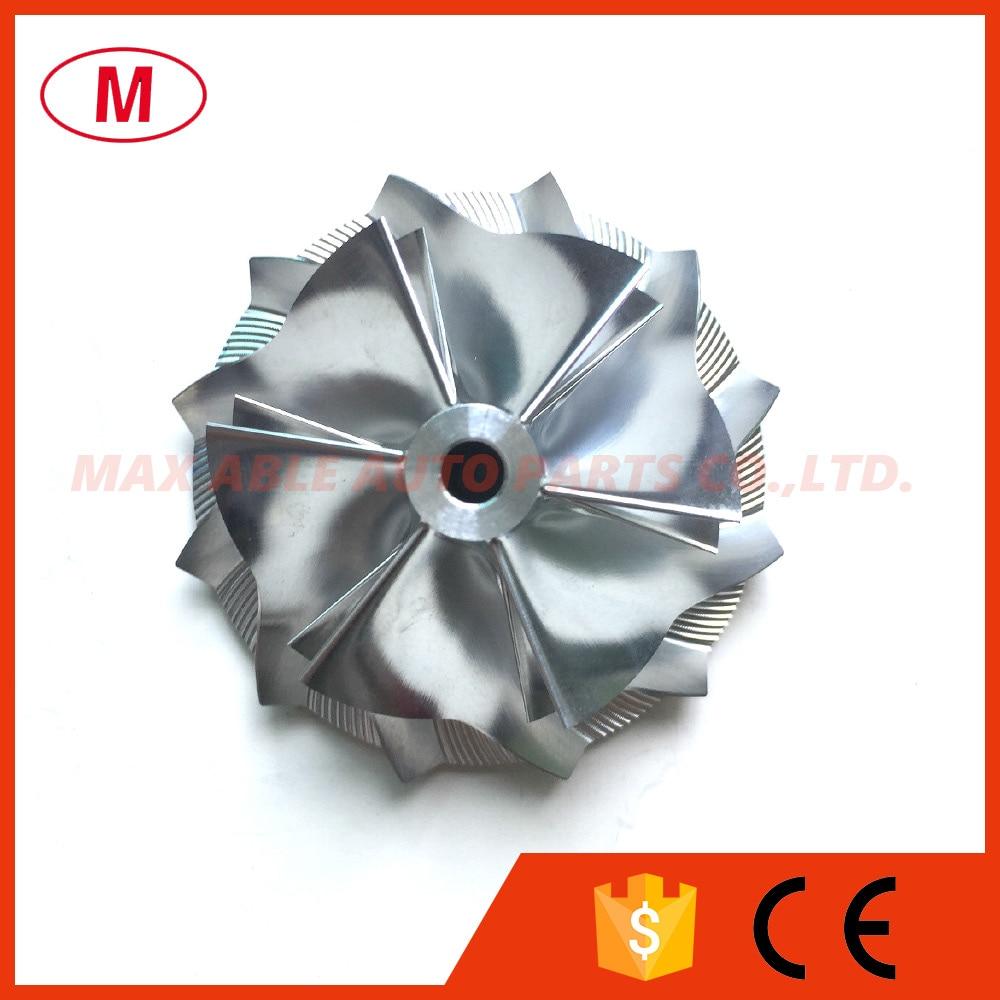 K16 5324 123 2206 High PerformanceTurbo Aluminum 2618 Milling Billet compressor wheel 49 62 61 98mm