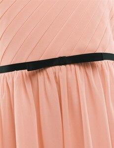 Image 5 - Плиссированные платья с одно плечо и вышивкой для девочек, детские платья для девочек на свадьбу или свадьбу, рождественское бальное платье принцессы