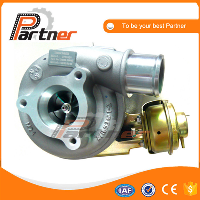 US $252 0 |Engine spare parts GT2052V 726442 0004 14411 2W204 Turbo For  NISSAN TERRANO ZD30ETi 3 0L 170HP water cooled engine 726442 5004S-in Air