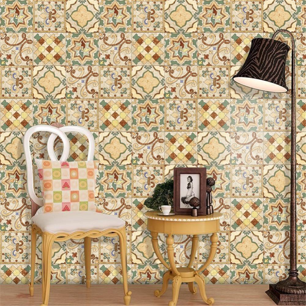 Pvc kche cheap fliesen muster dekorative pvcvinyl matte - Wandbelag steinoptik ...