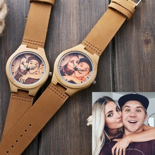Make Your Wooden Wrist Watch Personal with Your Photo or Logo