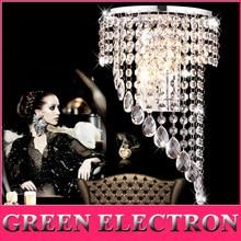 Modern Bedroom K9 Crystal Wall Lights Fashion Sconce Hallway E14 LED Lamp lustres de cristal Lighting