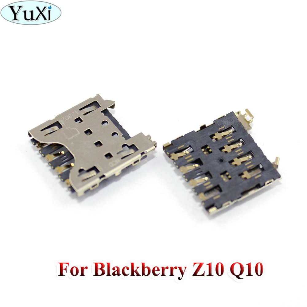 Yuxi Slot-Socket-Replacement Blackberry Connector-Holder Sim-Card-Reader 1pcs For Z10
