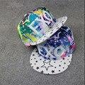 EXO мужчины и женщины моды письмо бейсболка шляпа Snapback Хип-хоп плашмя вдоль Унисекс регулируемая крышка Бенн