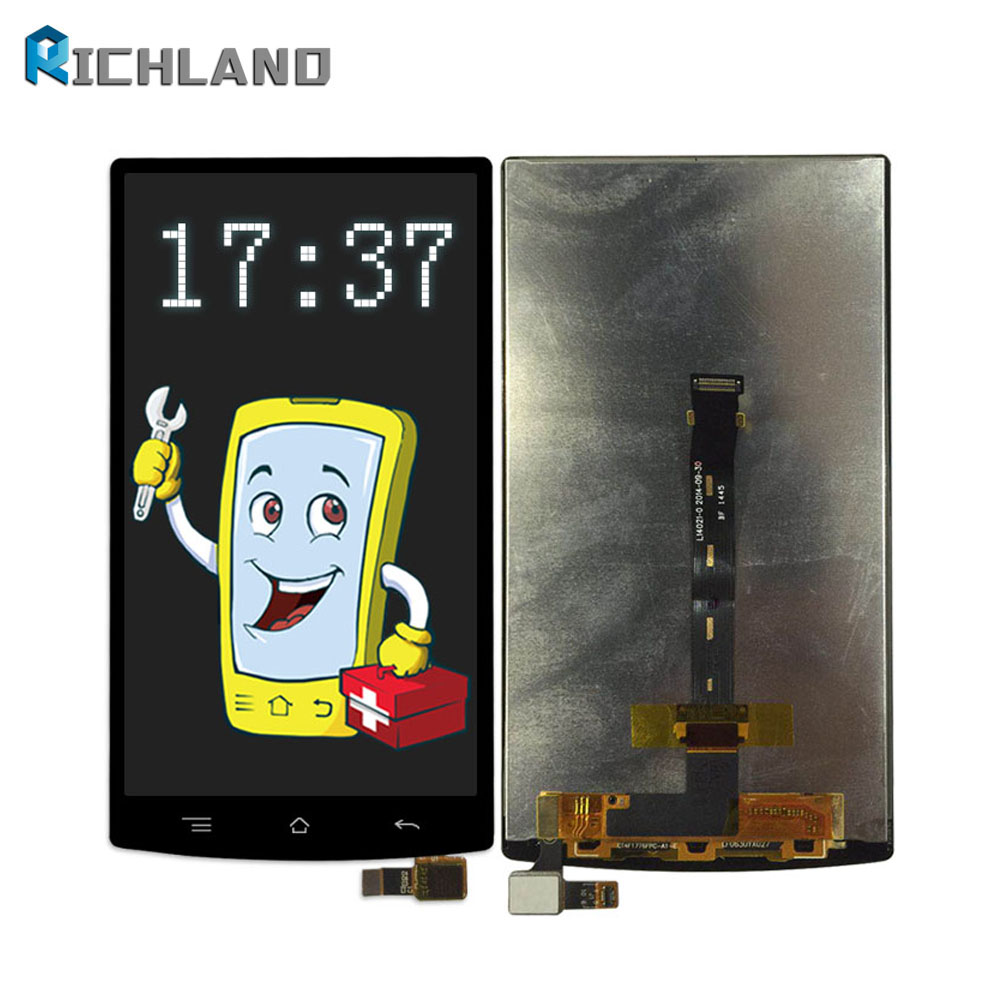 Richland LCD Display For OPPO N3 N5206 N5209 N5207 LCD Screen Touch Screen phone panel Digitizer Assembly Replacement Parts+tool