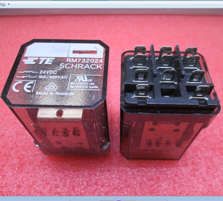 цена на NEW relay RM732024 24VDC 16A 400VAC DC24V 24V 11PIN