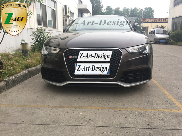 z art for rs5 looks body kit for audi a5 s5 2008 2016. Black Bedroom Furniture Sets. Home Design Ideas
