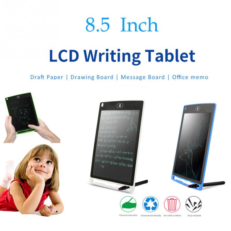 8.5-inch LCD Writing Board Portable Drawing Tablet High Luminance Electronic Notepad Ultrathin Kids LCD Handwriting Pads