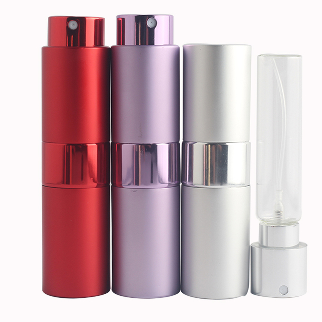 Mini 15ML Portable Spray Bottle Refillable Empty Perfume Atomizer Spray Bottles Travel Accessories Scent Pump Cosmetic Container 1