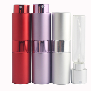 Image 3 - Mini 15ML Portable Spray Bottle Refillable Empty Perfume Atomizer Spray Bottles Travel Accessories Scent Pump Cosmetic Container