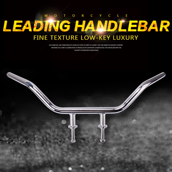 motorcycle handlebar steering yoke direction handle fat bar grip rod For Honda Steed400 Steed600 Steed 400 600 Accessories