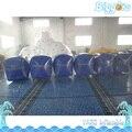 Forma de la Caja de transporte Marítimo Airball Campo de Arcones del Paintball Inflable Para La Venta