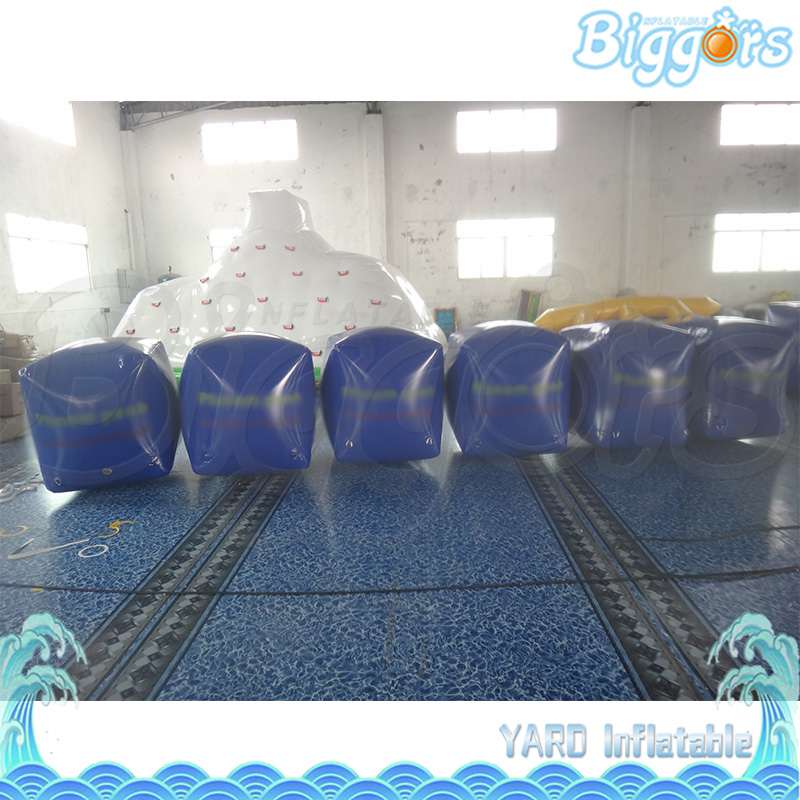 Sea Shipping Box Shape Inflatable Airball Field Paintball Bunkers For Sale commercial sea inflatable blue water slide with pool and arch for kids
