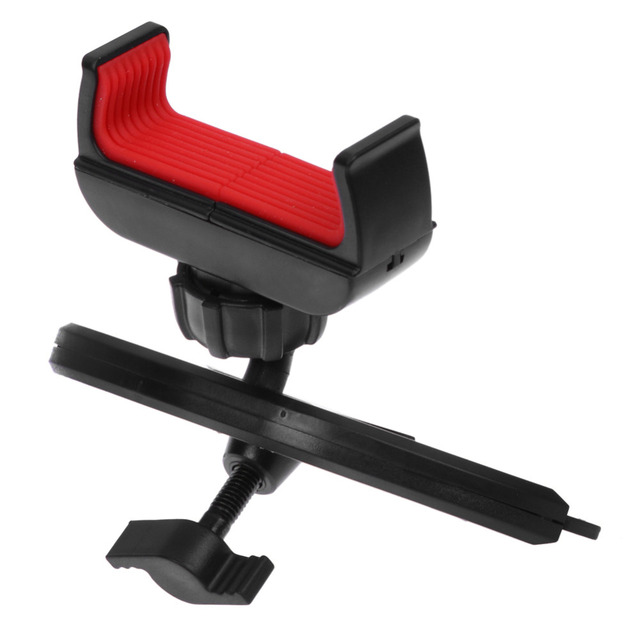 Universal Multifunctional Car Auto 360 degree Rotation CD Mount Slot Phone Holder Car Styling Accessories For iphone Cell Phone