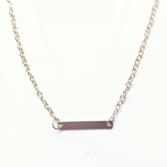 Geometric Women Clavicle Necklace 4