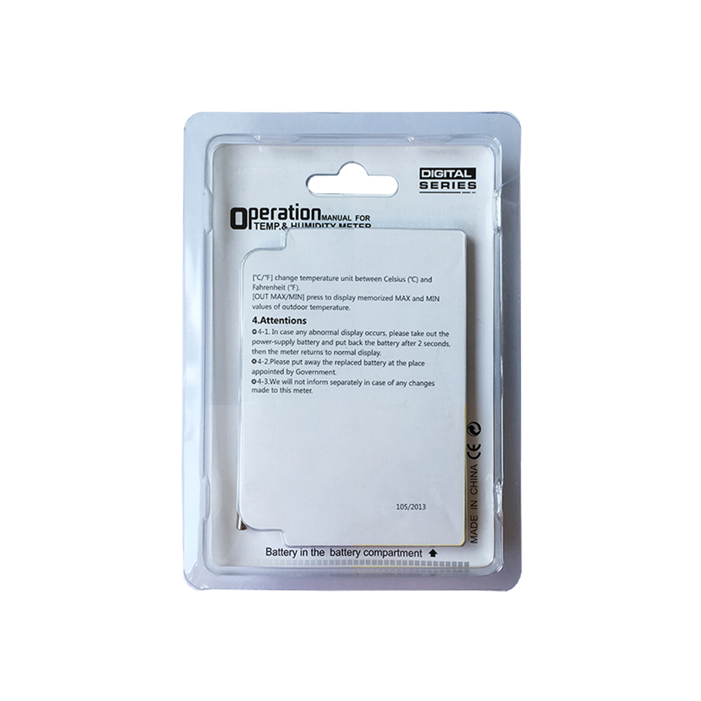 Mini LCD Digital Thermometer Hygrometer Temperature Humidity Meter ...