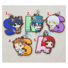 Anime Keychain Kawaii Psycho-Pass Shinya Kogami Tsunemori Akane Resin Rubber Limited Pendant Keyrings Nice Collect