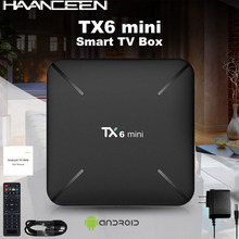 Android TV BOX TX6 MINI TV Box Allwinner H6 2GB 16GB 2.4GHz WiFi Support 4K H.264 smart set top tv box
