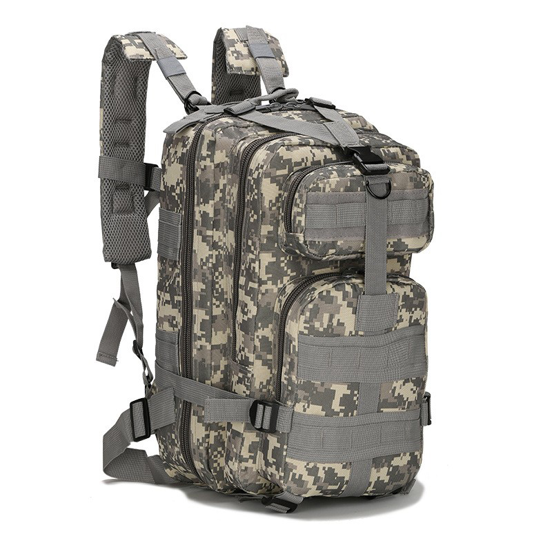 Mens Large Capacity Military Backpack Waterproof Travel Backpack 3P Attack Backpack Nylon Army Patrol Camouflage Rucksuck Bags 35l waterproof tactical backpack military multifunction high capacity hike camouflage travel backpack mochila molle system