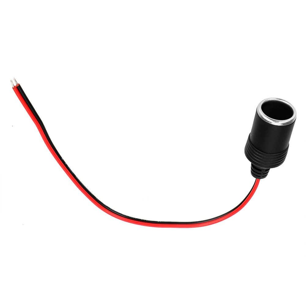 Adaptador do conector da tomada acessórios interiores do carro isqueiro 12 24 24 v 15a 200 w tomada do cabo do carregador do receptáculo