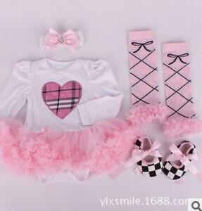Девочка платье Горный Хрусталь Обувь Детская Оголовье Набор, vestido menina, одежда для новорожденных девочек, Новорожденных девочка Партии крещение платье