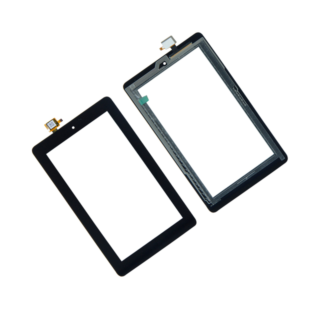 US $8 98 |Tablet Touch Screen Digitizer For Amazon Kindle Fire 7 5TH 5 Tab  Gen SV98LN Tablet TouchScreen Assembly Repair Panel Parts-in Tablet LCDs &