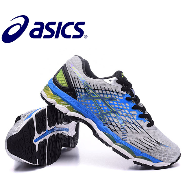 2018 New ASICS GEL-KAYANO 17 Stability Running Shoes ASICS Sports Shoes  Sneakers Outdoor Athletic Shoes GQ 6ee2258761dc