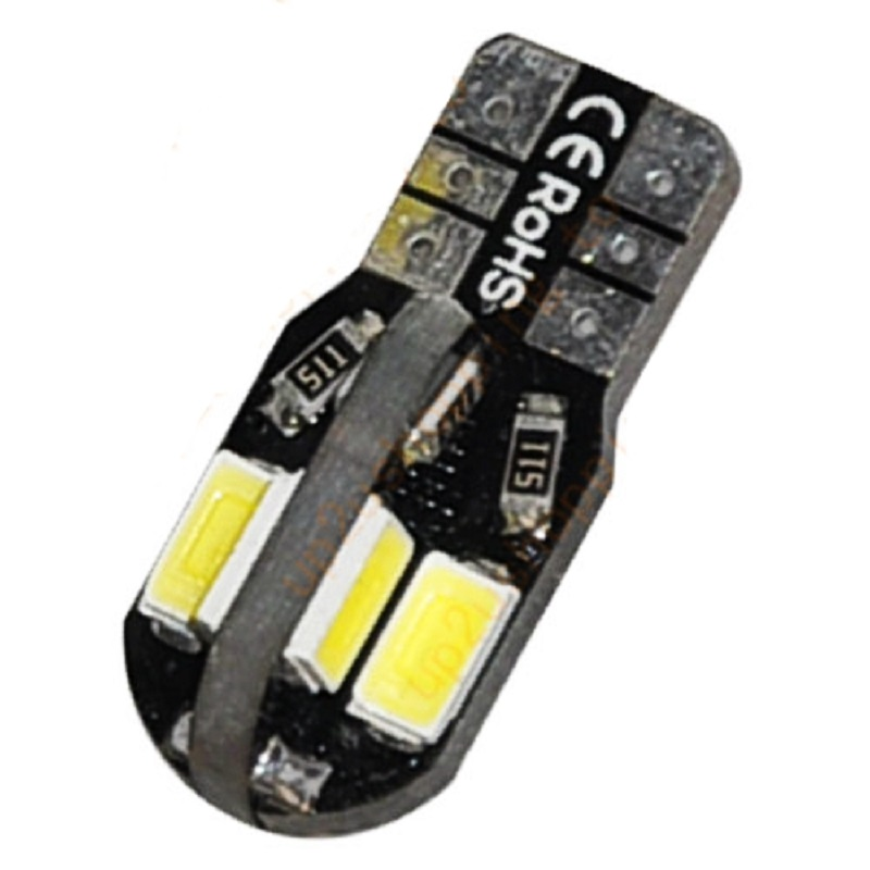 CANBUS ERROR FREE T10 Wedge Light Bulb 8 SMD 5630 5730 LED W5W 2825 158 192 168 194 car Clearance light auto marker lights 12V