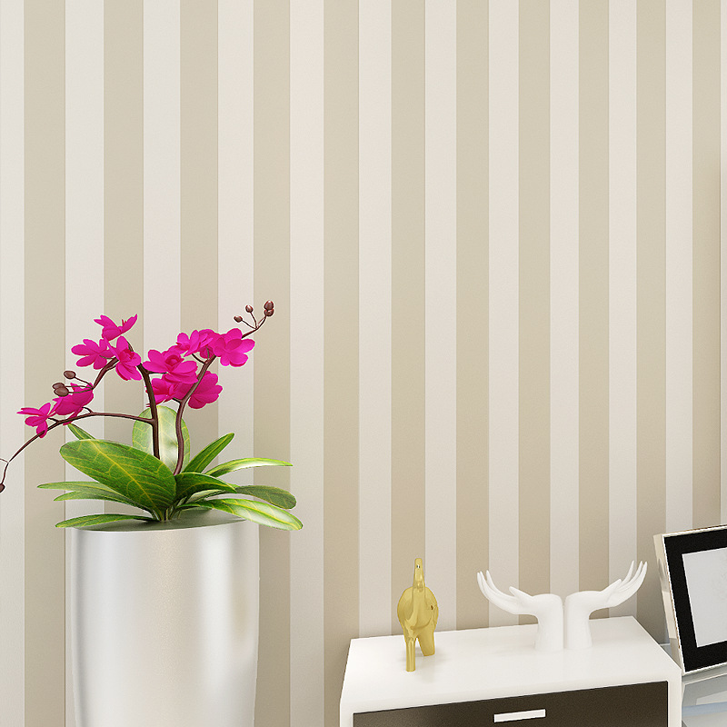 beibehang simple vertical striped wall paper explosion models wide bedroom living room wallpaper for walls papier peint flooring-in Wallpapers from Home Improvement    1