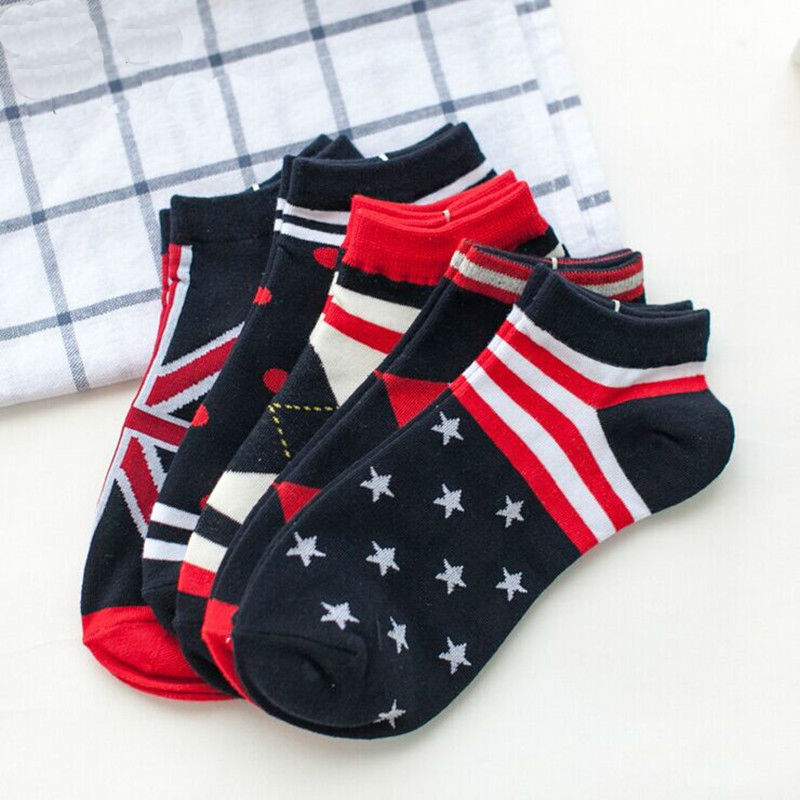 2016 Real Sale Mens Socks Fashion Socks Men 10 Pairs 20 Pieces Cotton Uk Style Spring & Summer Sport Casual 39-44 Free Shipping
