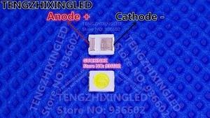 Image 1 - HONGLI TRONIC שבבים כפולים תאורת LED אחורית 1210 3528 2835 1 W 3 V 100LM מגניב לבן תאורה אחורית LCD עבור טלוויזיה יישום טלוויזיה