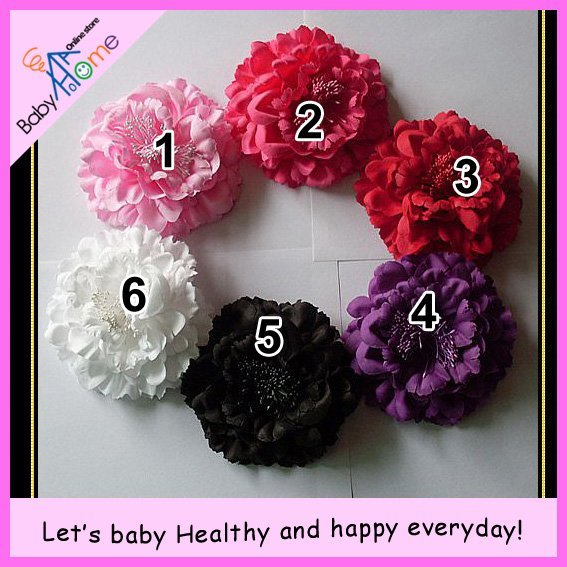 BH-H008-1 baby home NEW baby peony accessorise item, only for baby girl, wholesale 60pcs/lot.