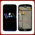 For Motorola Moto G4 Plus LCD DIsplay + Touch Screen Digitizer Assembly With Frame White/Black +Tools Free Shipping