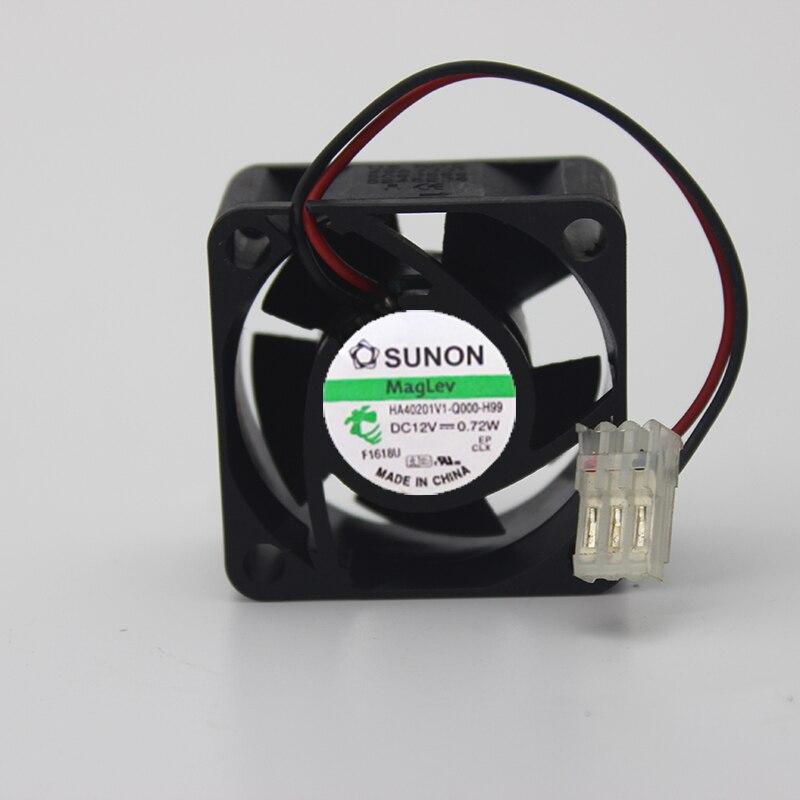 Original genuine 4cm 4020 HA40201V1-Q000-H99 12V0.72W silent cooling fan