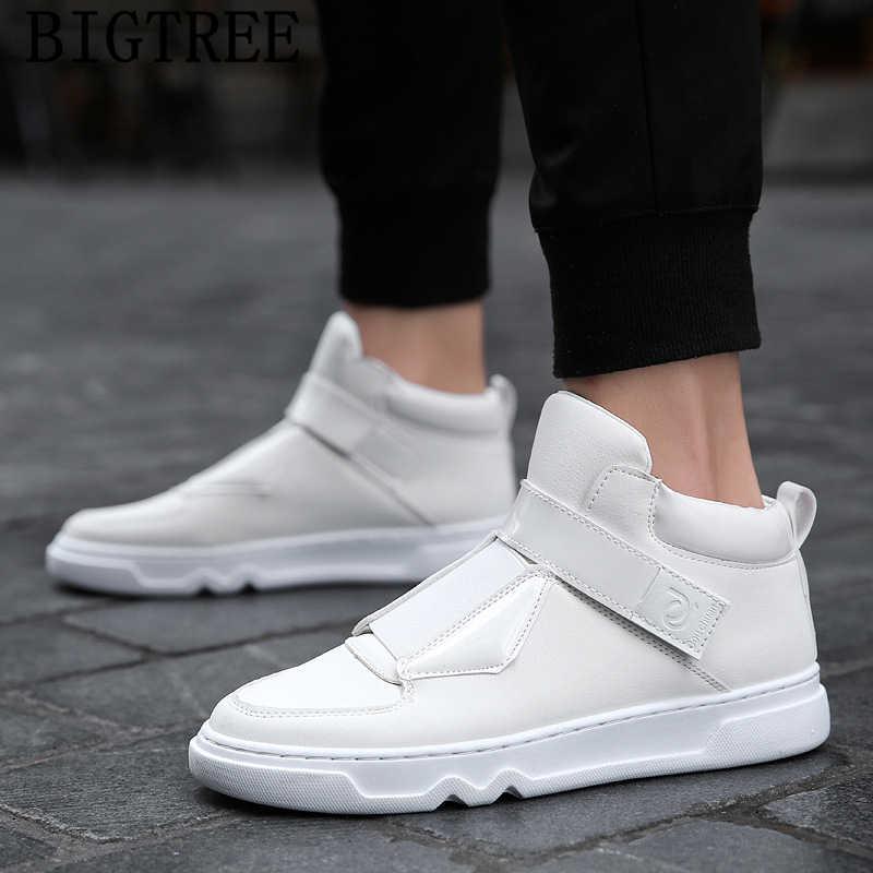 รองเท้าผ้าใบคุณภาพสูงรองเท้าสบายๆผู้ชายรองเท้าผ้าใบสีขาวรองเท้าหนังผู้ชายหรูหรารองเท้าผู้ชายรองเท้าผ้าใบยี่ห้อ ayakkabi