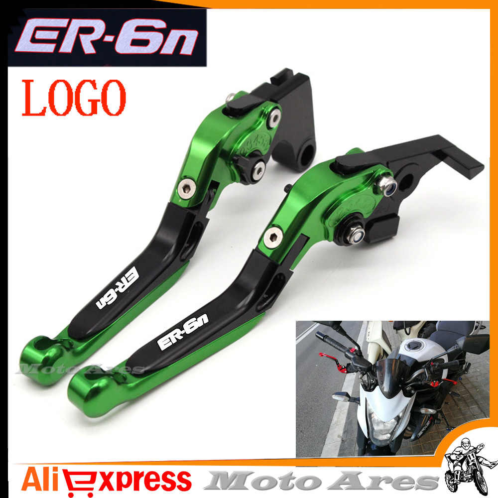 13 Colors CNC Motorcycle Brakes Clutch Levers For KAWASAKI ER6N ER-6N 2009 2010 2011 2012 2013 2014-15 Accessories