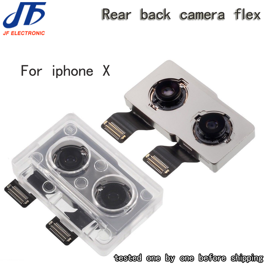 tested Back Camera Rear Main Lens For iphone X Flex Cable Replacement For iphone x camera