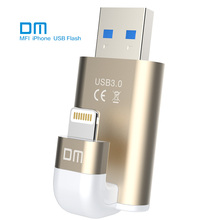 Free shipping DM APD003 USB3.0 32GB  MFI usb flash drives for iphone for ipad external storage usb flash disk