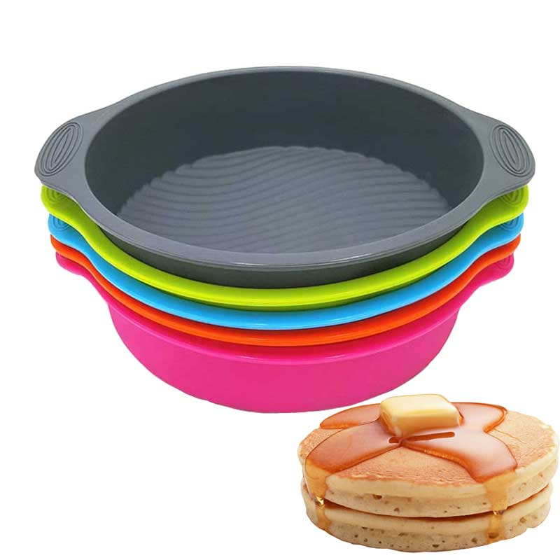 ANDES Big and Beautiful Round Shape 3D diy Silicone Cake Mold Baking Tools Bakeware Maker Tray