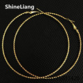 Earrings for women Wholesale large circle nightclub Exaggerated female Gold silver 70MM Classic Thread shape Fashion frontier