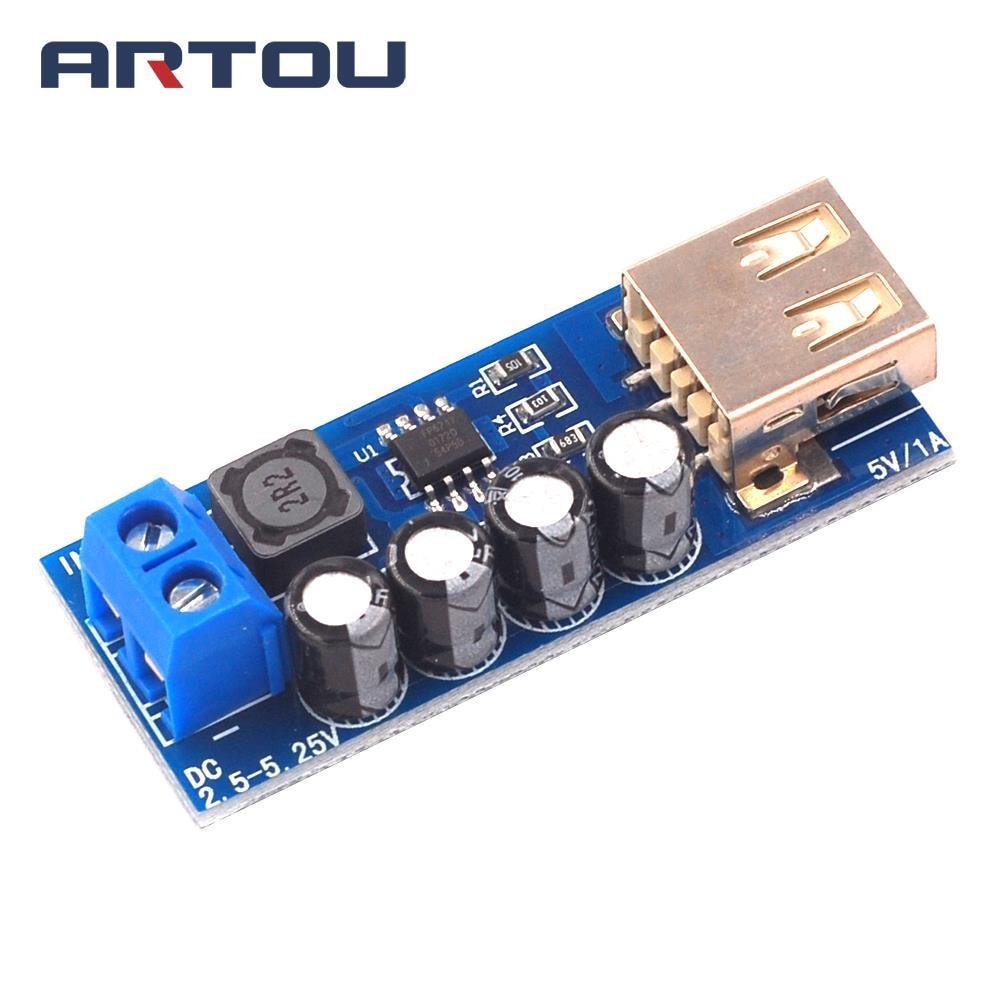 DC DC Low Power Booster FP6717 Modul Step Up Modul Präzise Linear Gleichrichter USB Lithium-Batterie Lade Ladegerät XH-M352 5V 1A