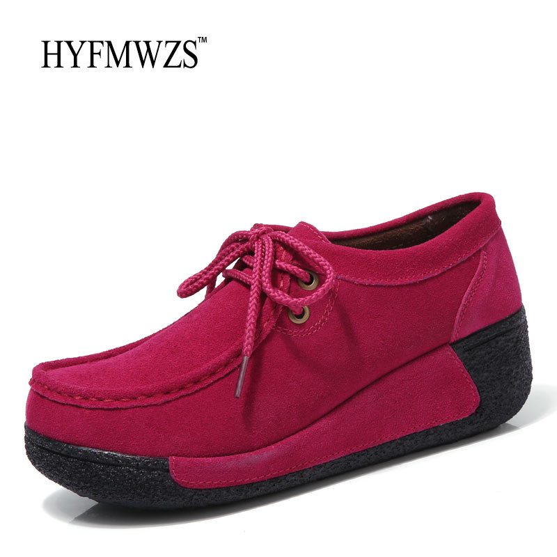 HYFMWZS Fashion Designers Height Increasing Swing Shoes For Women Breathable Non-Slip Flat Shoes Women Health Walking Shoes hot height increasing 2016 summer shoes women s casual shoes sport fashion walking shoes for women swing wedges shoes breathable