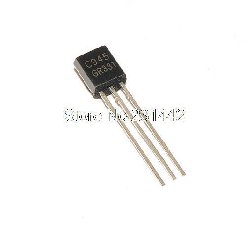 free shipping 100 pcs 2sc945 c945 to 92 50v bipolar transistors npn